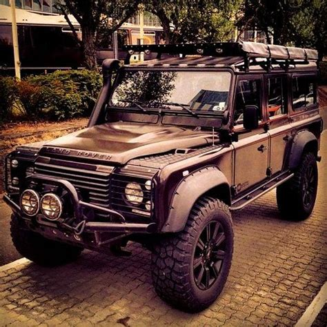 land rover jungle customized safari land rover defender 110 ready for a