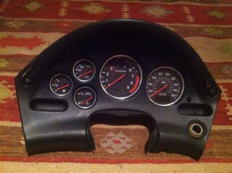 Ring Speedometer Chroom Rx King Original sell jdm mazda rx7 fd3s fd rx 7 mt cluster oem 13b chrome ring low motorcycle