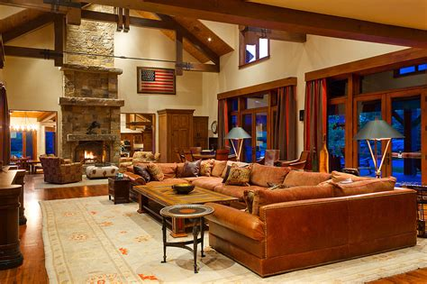 ranch style homes interior riverbend ranch luxury retreats