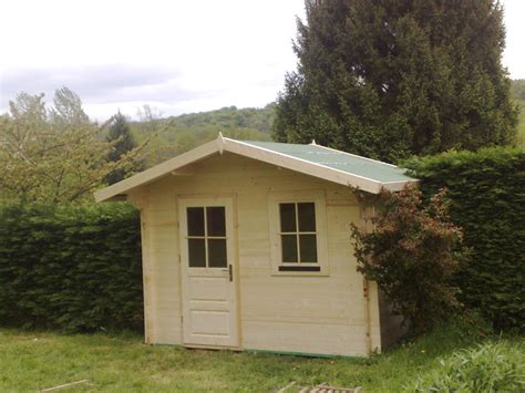 chalet abris de jardin bois abris et chalets en bois standard et sur mesure de 6 224 12 m 178 amexdeco
