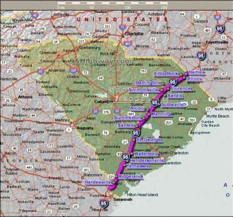 i 95 map i95 map map travel holidaymapq