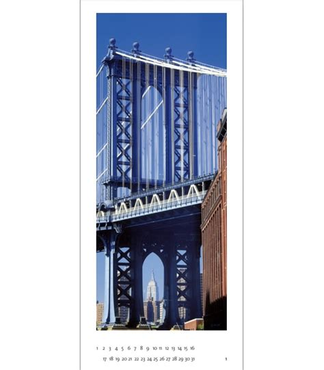 wandkalender n y color new york vertical panorama
