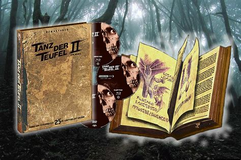 doesn t frighten me 25th anniversary edition books german 25th anniversary evil dead 2 extended cut limited