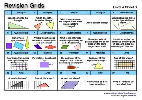 41 revision v1 revision grids level 4 page 13 of 18 math