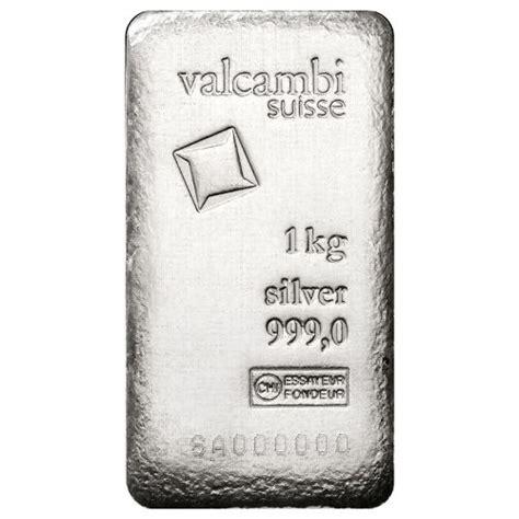 1 Kilo Silver Bar Valcambi by Buy 1 Kilo Valcambi Suisse Cast Silver Antique Bars