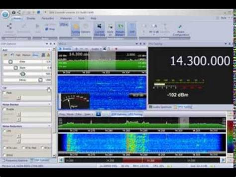 sdr console v2 sdr console v2 1 running on the perseus sdr