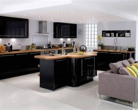 Kitchen Design Howdens by 25 Black Kitchen Design Ideas Creating Balanced Interior