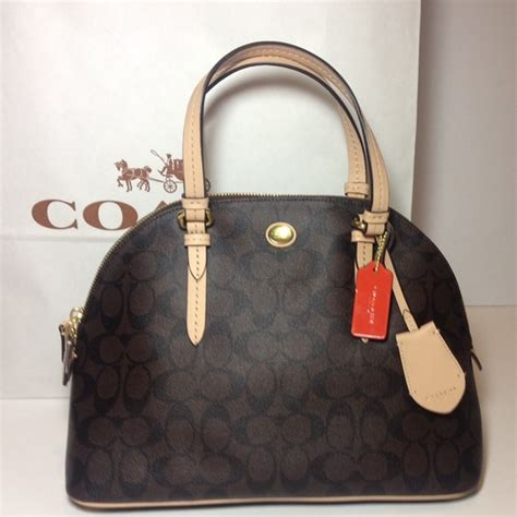 Coach Bag Sale by 58 Coach Handbags Sale Nwt Coach Peyton Domed Satchel From Allison S Closet On