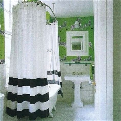 Green And White Bathroom Ideas by Green White Amp Black Bathroom Bath Ideas Juxtapost