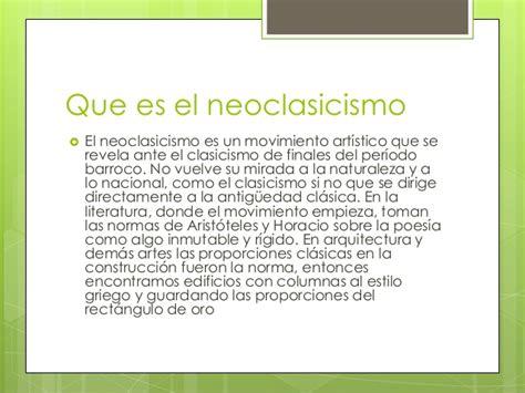 que significa themes en español neoclasicismo en la nueva espa 241 a