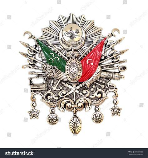ottoman symbols ottoman empire emblem old turkish symbol isolated