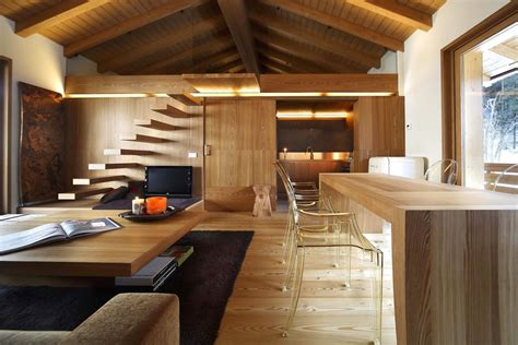 wooden house interior modern wood house by studio fanetti decoholic
