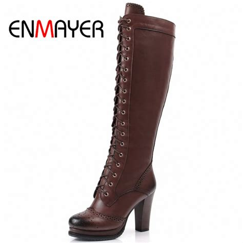 enmayer winter boots shoes high quality