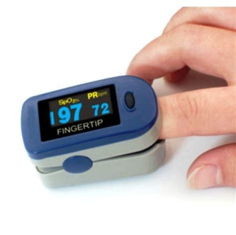 Fingertrip Oxymeter fingertip pulse oximeter avermed