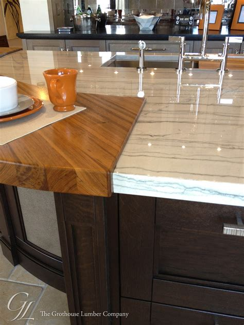 Teak Countertop by Custom Teak Wood Countertop In Denver Colorado By Grothouse