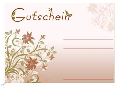 Vorlage Word Gutschein Geburtstag Gutschein