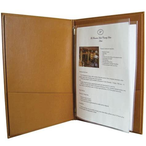 hotel room information folders guest information folders hotel visitor room folders