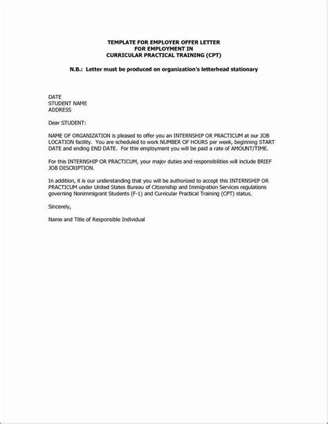 Rescind Offer Letter