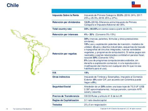impuesto de renta 2016 colombia newhairstylesformen2014com impuesto a la renta en chile 2016