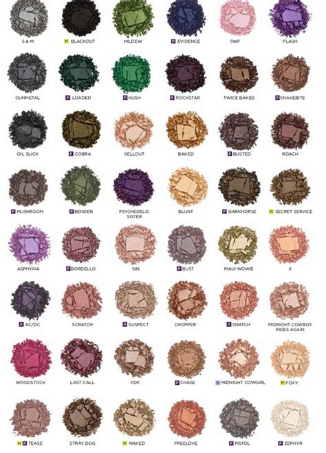 Decay Eyeshadow Pallet the 25 best decay eyeshadow singles ideas on
