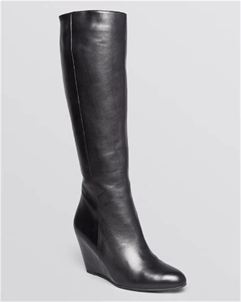 via spiga wedge boots adina bloomingdale s