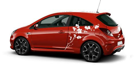 Pinke Blumen Aufkleber F Rs Auto by Orchidee Auto Aufkleber Orchideen Bl 252 Ten Auto Aufkleber