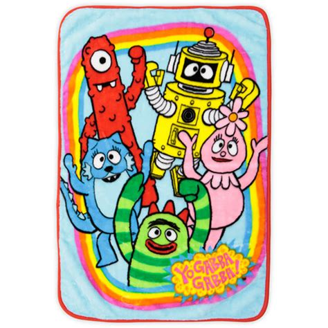 yo gabba gabba bedding yo gabba gabba bedding plush blanket at toystop