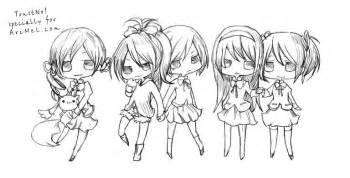 How to draw chibi step by step arcmel com