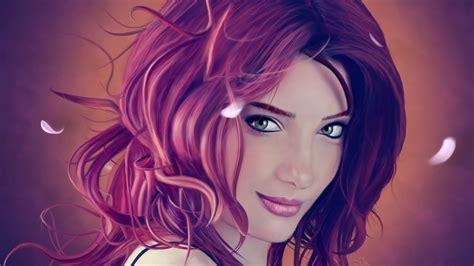 anime girl wallpaper portrait beautiful girl anime portrait hdwallpaperfx