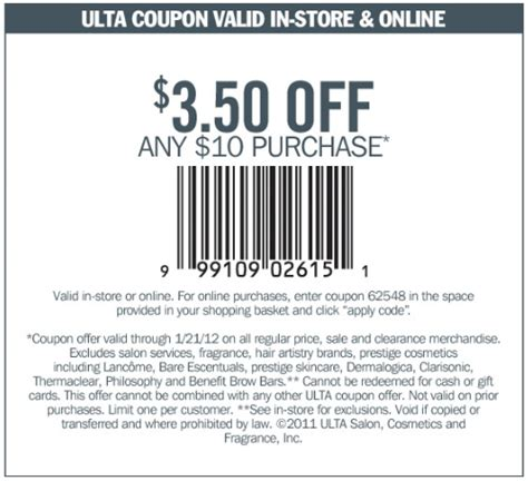 printable ulta coupons 3 50 off 10 ulta printable coupons release date price and specs