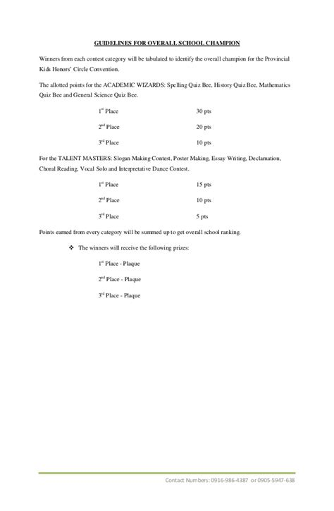 Guidelines For Essay Writing Contest by Photo Essay Contest Guidelines
