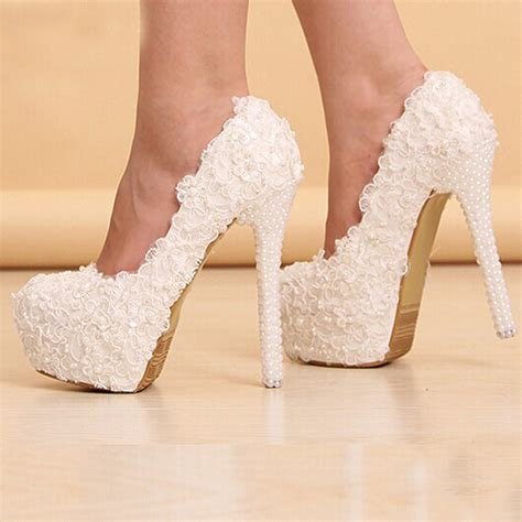 wedding shoes high heels white wedding high heels www imgkid the image kid