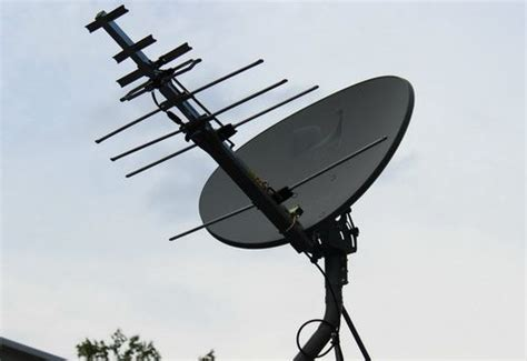 cancel satellite tv and turn your existing dish into an hdtv antenna alternative energy diy