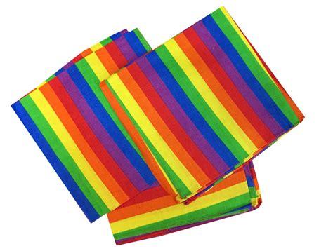 Bandana Rainbow by Rainbow Bandana 1 Dozen