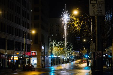 tree lughting seattle market photos seattle landmarks at seattle refined
