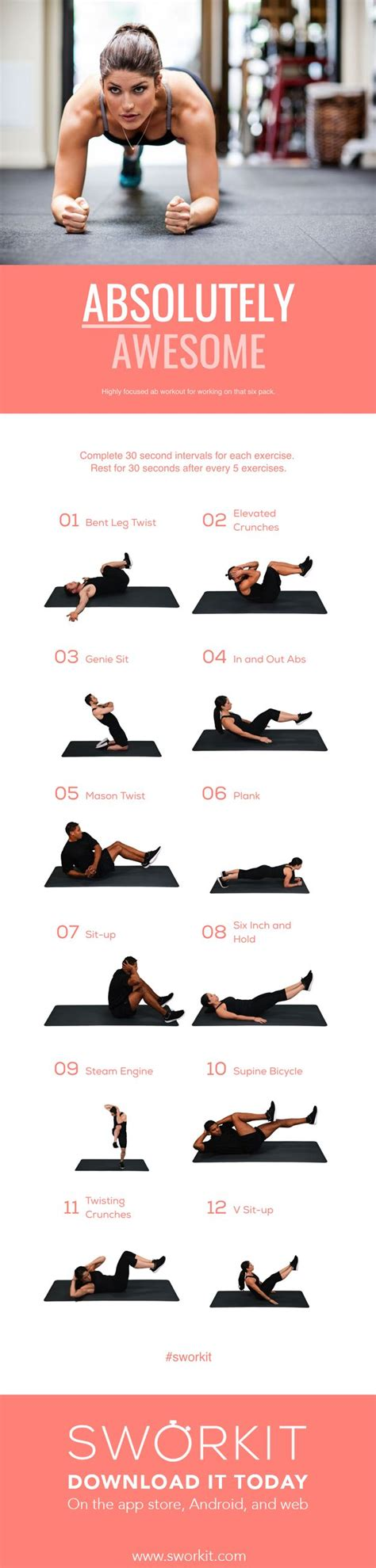 best 25 get abs ideas on how to get abs tummy toning exercises and belly pooch workout