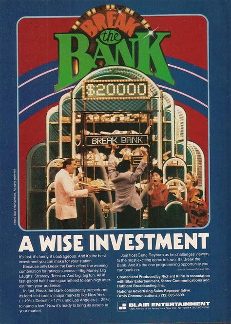 break  bank  game shows wiki fandom powered  wikia