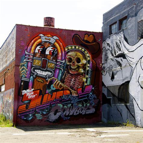 detroit graffiti art eastern market