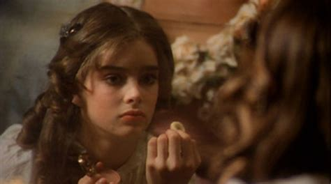 brooke shields child bathtub beauty kitsch slapped