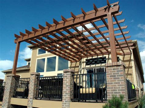 multi level deck with pergola deck design and ideas