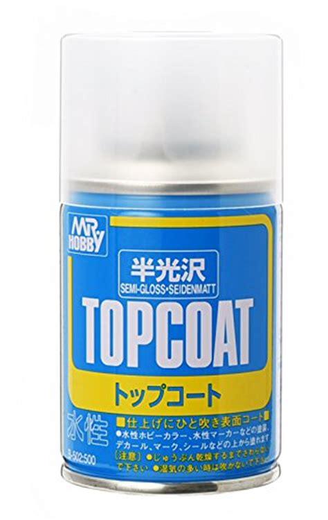 Murah Mr Hobby Top Coat Semi Gloss topcoat gundam mr hobby top coat semi gloss net 88ml spray by gsi creos buy in uae