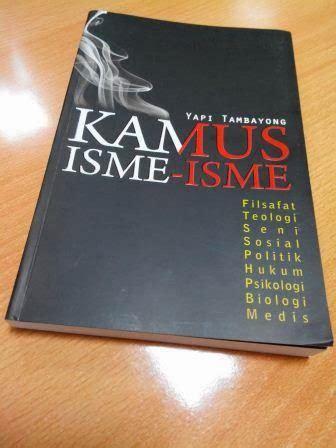 Hotel Prodeo Novel Yapi Tambayong A K A Remy Sylado best seller books resensi buku kamus isme isme