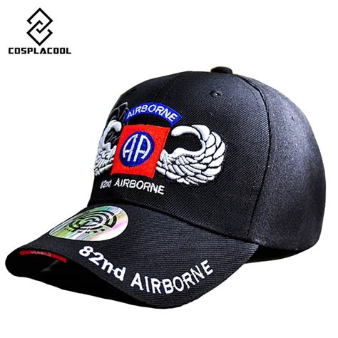 Topi Baseball Snapback Airborne Division Diskon popular 82nd airborne hat buy cheap 82nd airborne hat lots from china 82nd airborne hat