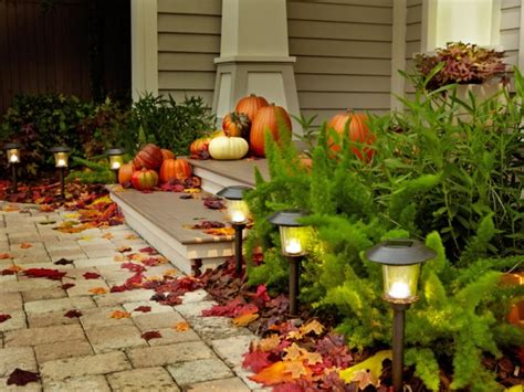 Marvelous Solar Exterior Entry Lights Closed To Outdoor Fall Solar Lights