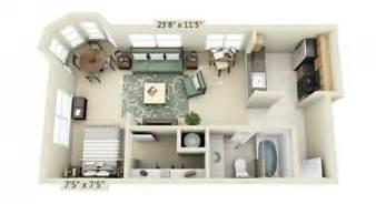 Studio Apt Floor Plan studio apartment floor plans
