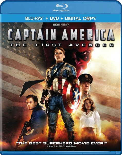 blu ray film captain america the first avenger dvd release date