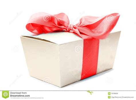 gift box ribbon royalty free stock image image 16789656