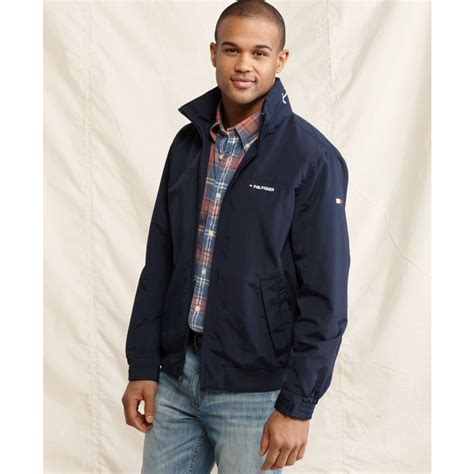 yacht jacket tommy hilfiger tommy hilfiger tommy yacht jacket in blue for men lyst
