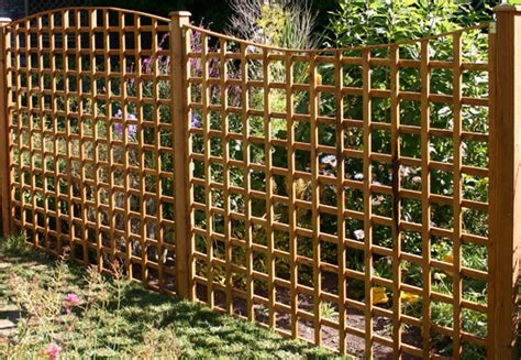Curved Garden Trellis Woodland Garden Products Traditional Range