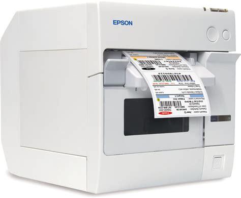 Printer Barcode Epson epson tm c3400 securcolor color label printer research